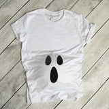 Ghost Pregnancy Shirt Halloween Costume Pregnancy Shirt Cute Costume Shirt