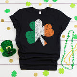 Grunge Irish Flag Shamrock St. Patrick's Day Shirt Cute St. Paddy's Day Shirt Ireland Flag Shirt Irish Pride Shirt