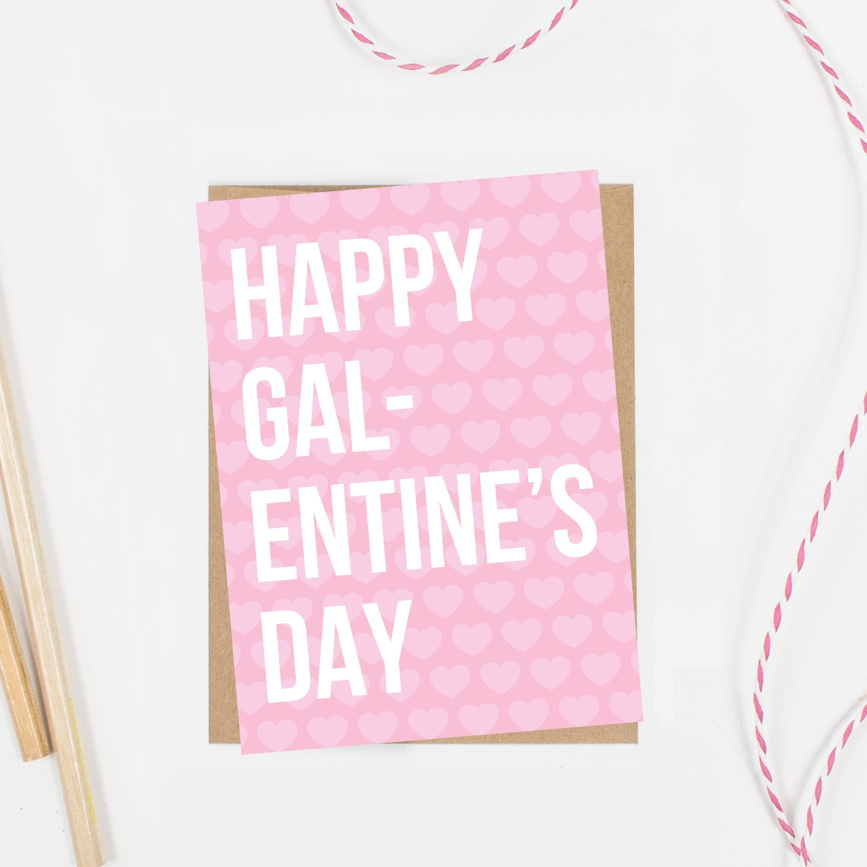 Happy Galentine's Day Valentine Card