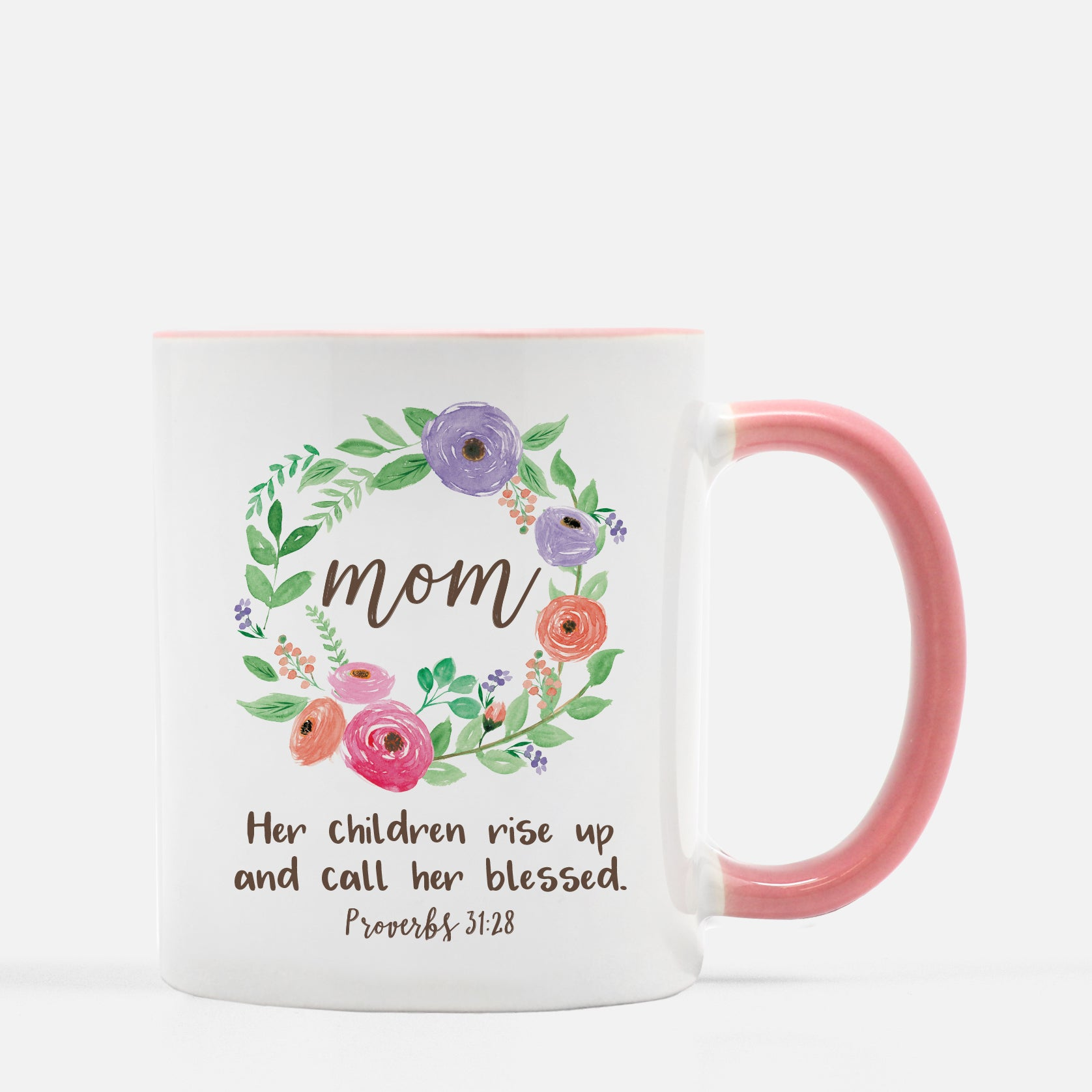 Mom Her Children Rise Up and Call Her Blessed Mug Mom Coffee Mug Mother's Day Gift Christian Gift for Mom