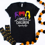 I Smell Children Shirt Teacher Halloween Shirt Hocus Pocus Shirt Halloween Teacher Shirt