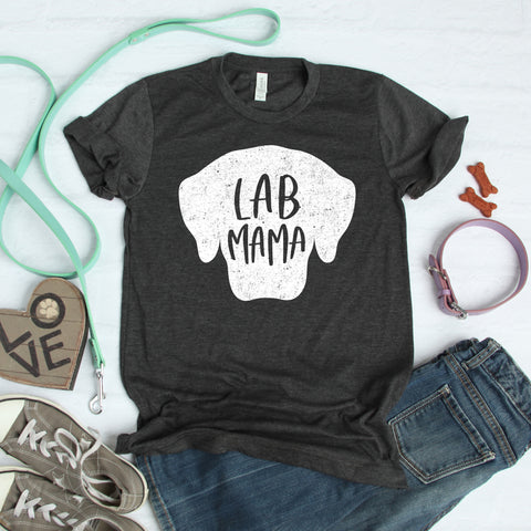 Lab Mama Shirt - Labrador Retriever Mom Shirt - Dog Mom Shirt - Fur Mom Shirt - Dog Lover Gift - Dog Owner Gift