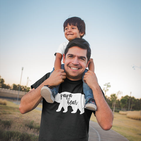 Papa Bear Shirt Father's Day Gift for Dad