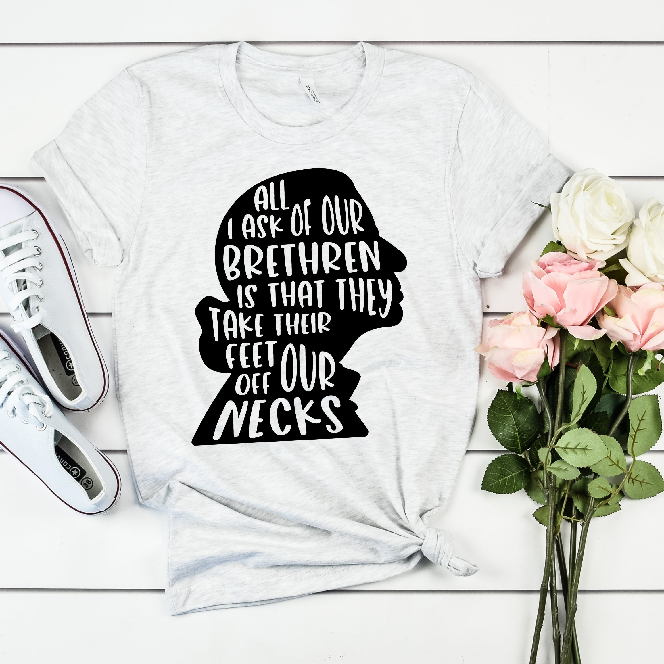 Ruth Bader Ginsburg Shirt - RBG Shirt - Feet Off Our Necks Shirt