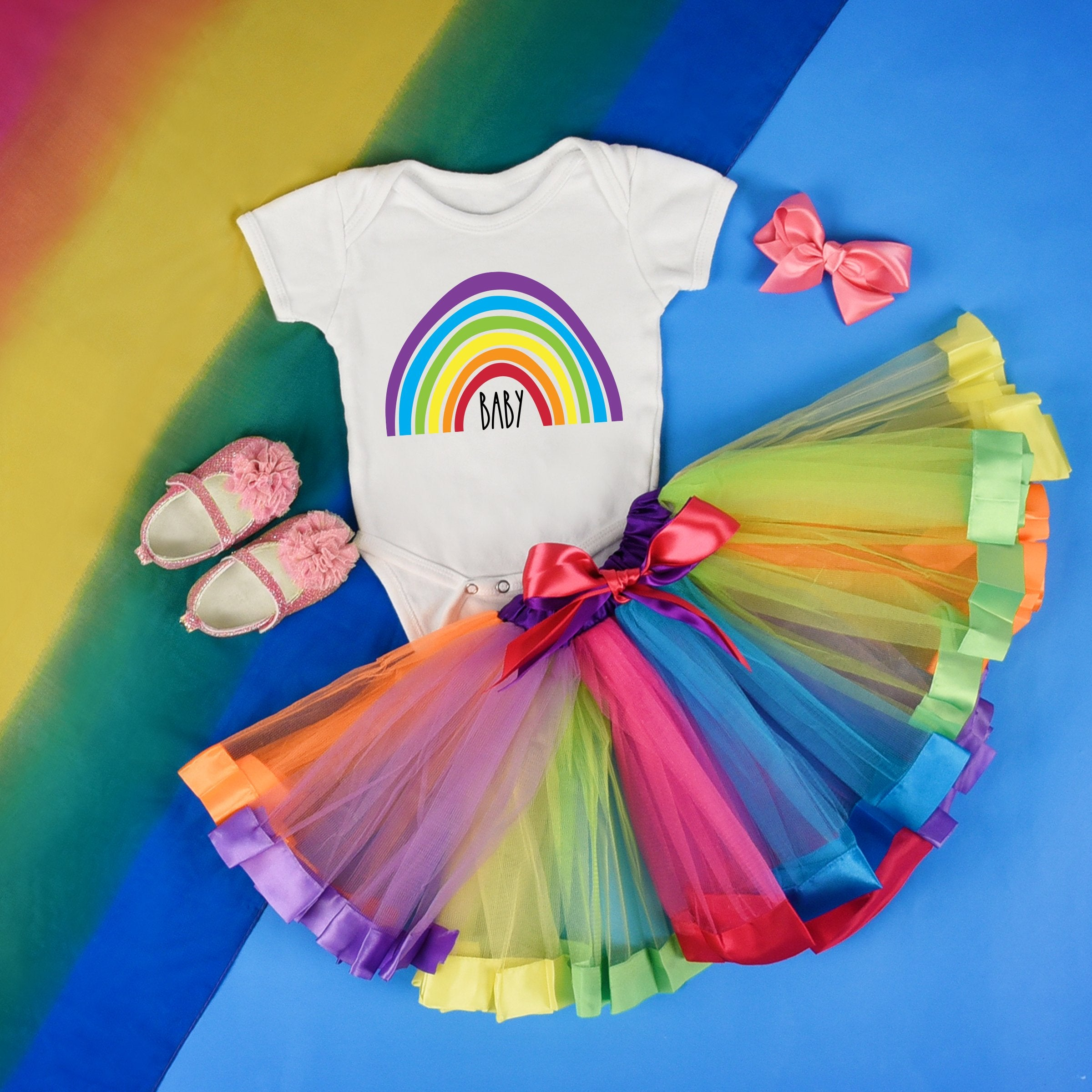 Rainbow Baby Bodysuit - Rainbow Baby One Piece - Rainbow Baby Shirt