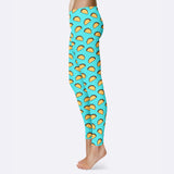 Taco Leggings Tacos Leggings Taco Tuesday Leggings Taco Lover Gift Cinco de Mayo Leggings