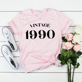Vintage 1990 30th Birthday Shirt | Dirty Thirty Shirt | Cute Thirty Birthday Party Shirt