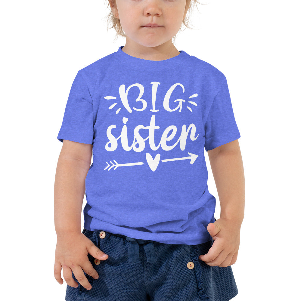 Big Sister Shirt - Baby Announcement Shirt - Pregnancy Announcement Shirt - Shirt for Big Sister - Toddler Shirt - Children's Shirt