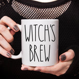 Witch's Brew Halloween Mug Cute Funny Halloween Mug Witch Halloween Mug Halloween Gift