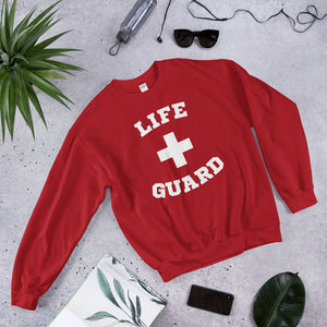 Lifeguard Sweatshirt Life Guard Shirt Lifeguard Halloween Costume Cute Easy Halloween Costume Sweater Sweatshirt