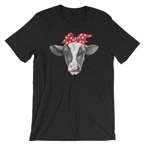 Cow with Red Bandana Heifer Shirt