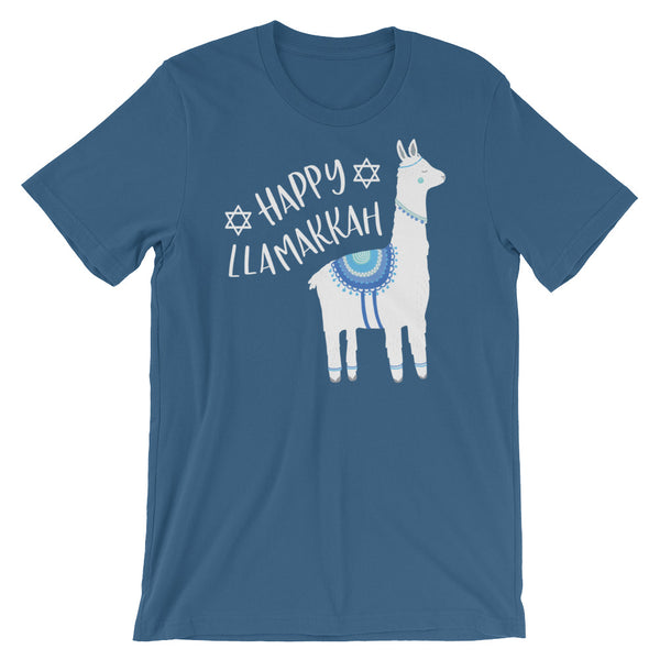 Happy Llamakkah Hanukkah Shirt Chanukah Shirt Cute Funny Hanukkah Shirt