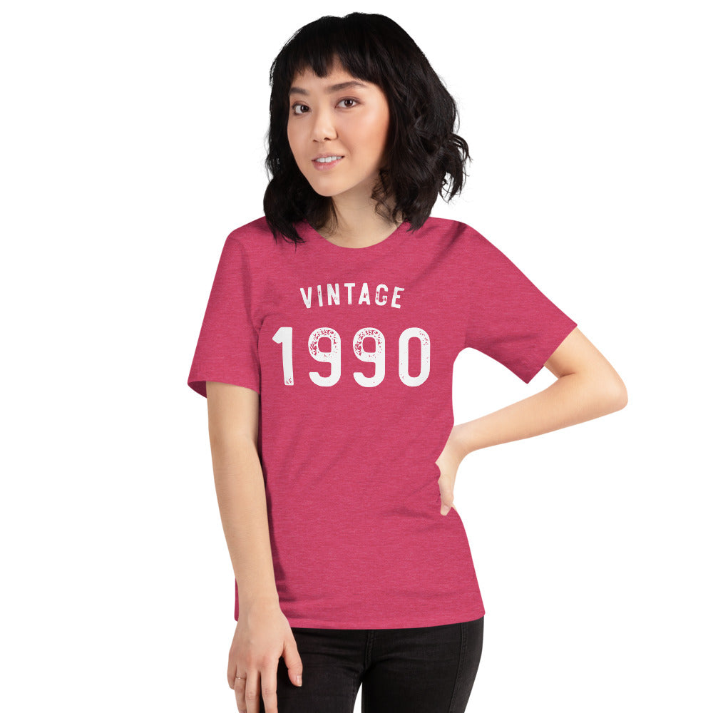 Vintage 1990 30th Birthday Shirt
