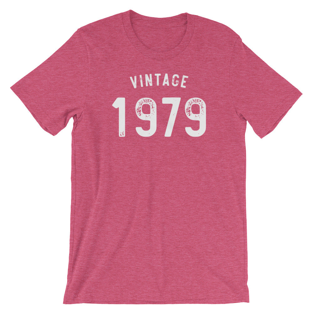 Vintage 1979 40th Birthday Shirt