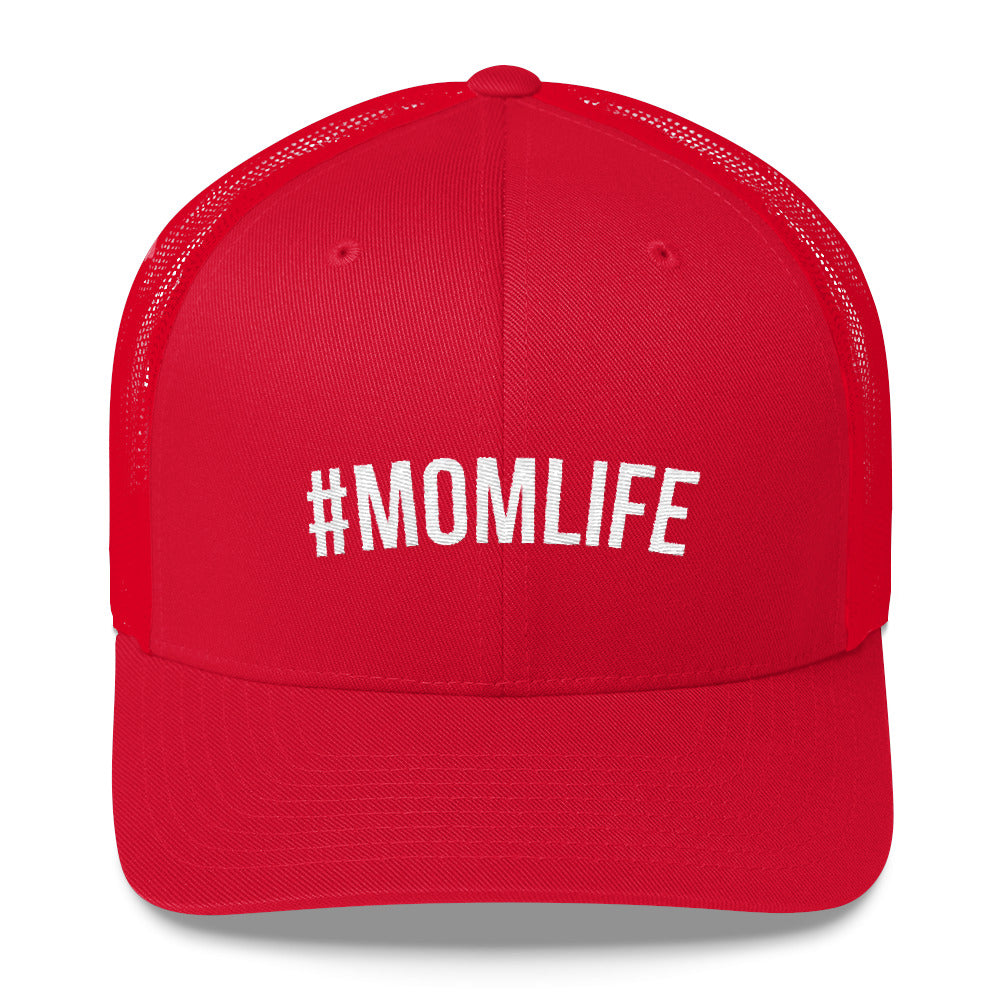 #MomLife Mom Life Trucker Cap - AlluringPrints