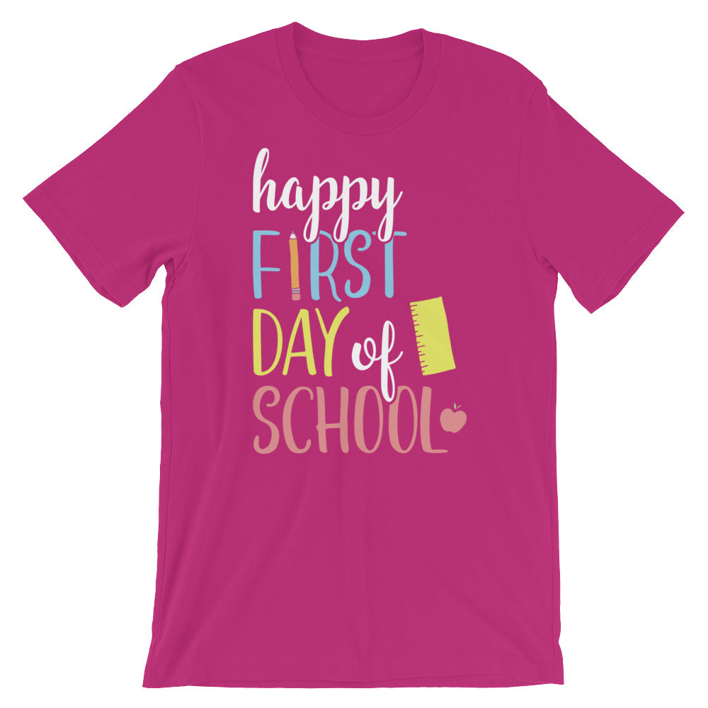 Happy First Day of School Shirt - AlluringPrints