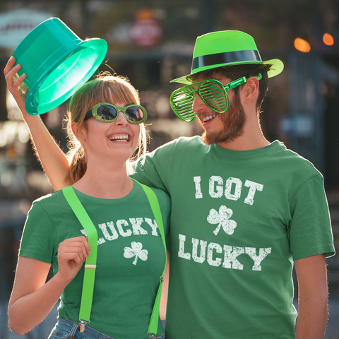 Matching Couples St. Patrick's Day Shirts