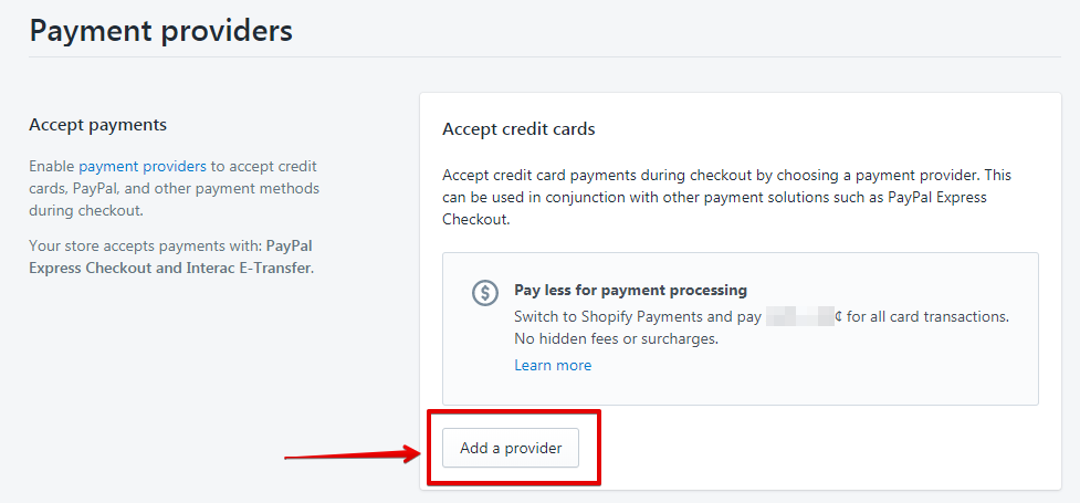 Add a Payment Gateway to Shopify