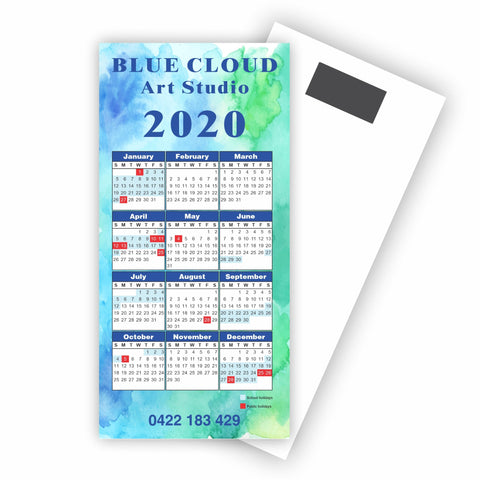 DL Calendars with Magnet