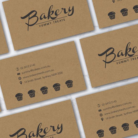 Kraft Business Cards