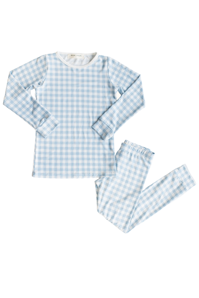 FL X B&B Classic Thermal Pajama - Gingham