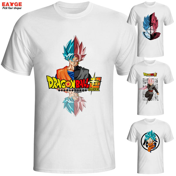 Dragon Ball Super Saiyan Rose T Shirt
