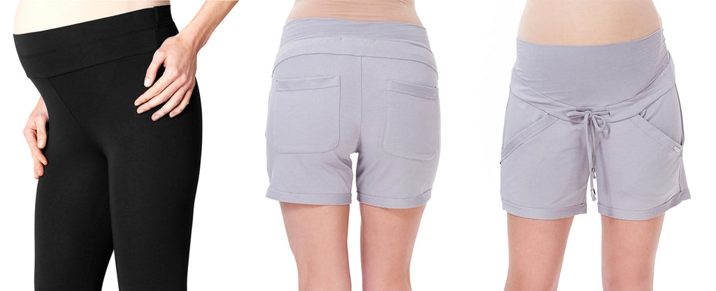 Maternity Bottoms-Mid-Belly Panels