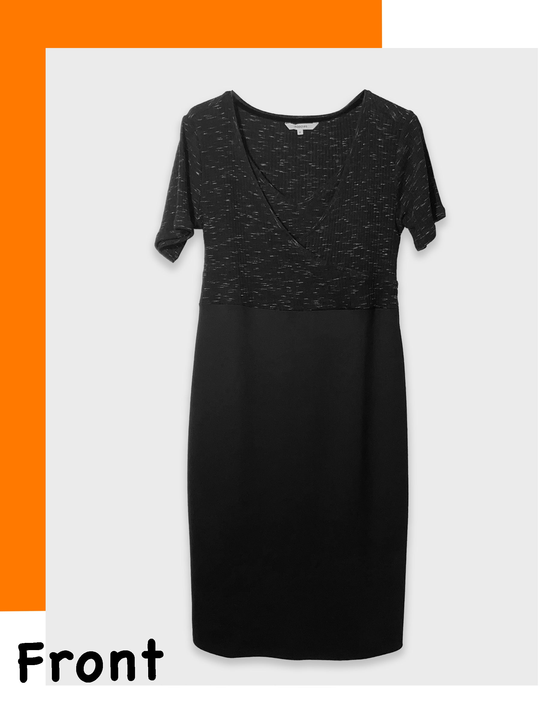 Maternity Dress with Discreet Nursing Access