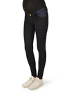 Maternity Skinny Jeans with Stretchy Side Inserts