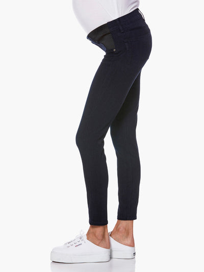 Paige Maternity Jeans with Insets Expand with Pregnancy Belly