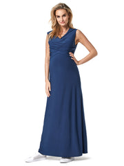 Maxi Nursing and Maternity Dress
