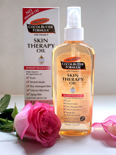Palmer's Skin Therapy Oil Improves Scars and Stretch Marks