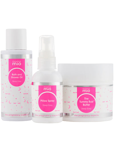 Mama Mio Sleep Easy Mama Lavender and Mint Collection