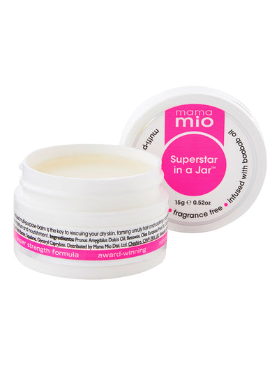 Mama Mio Superstar in a Jar Multi-Purpose Rescue Balm