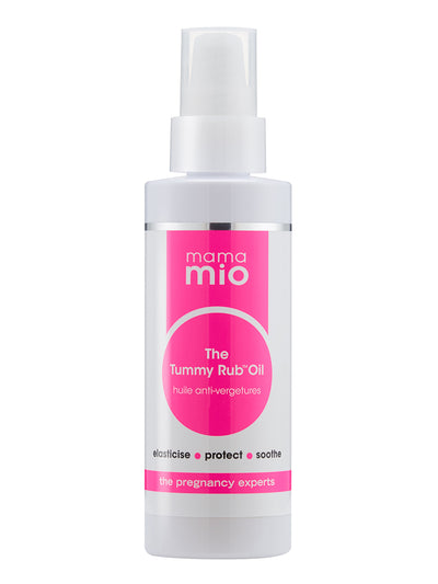Lightweight Non-Staining Oil Prevents Stretch Marks and Relieves Itchiness