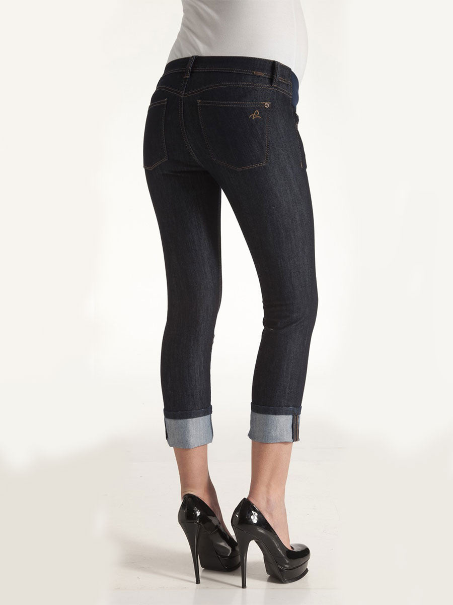DL1961 Underbelly Skinny Ankle Length Maternity Jeans
