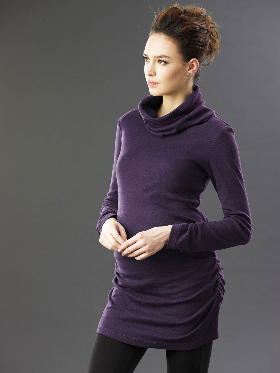 Maternity Tunic with Side Ruching to Accommodate your Belly