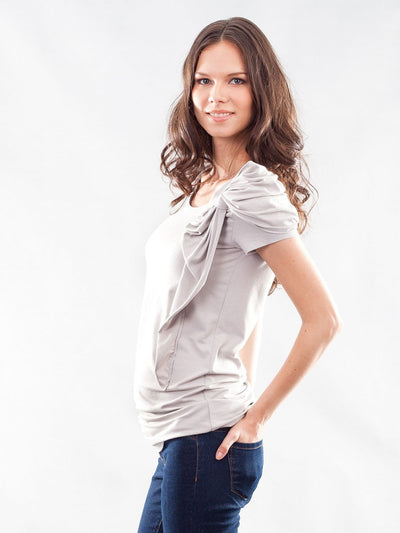 Eco-Friendly Bamboo Maternity Top