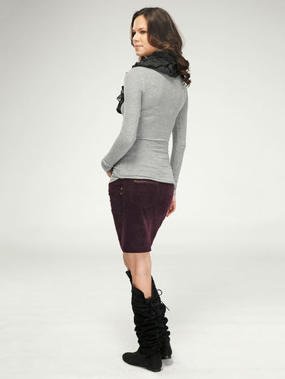 Winter Maternity Turtleneck Top Keeps you Warm