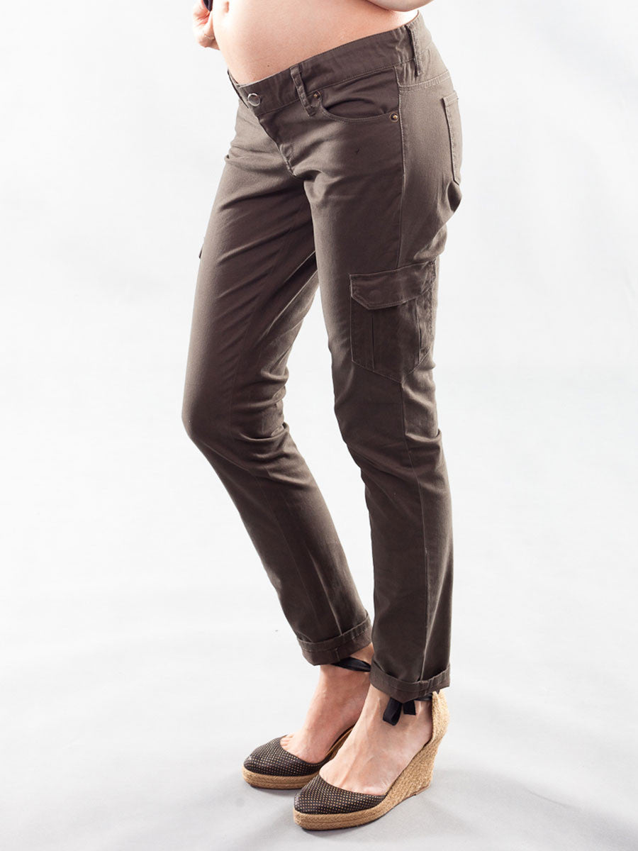 Underbelly Skinny Cargo Maternity Pants