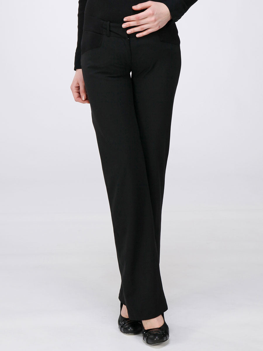 Underbelly Slim Bootcut Maternity Work Pants