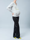5-Pocket Bootcut Maternity Pants Accommodates Belly