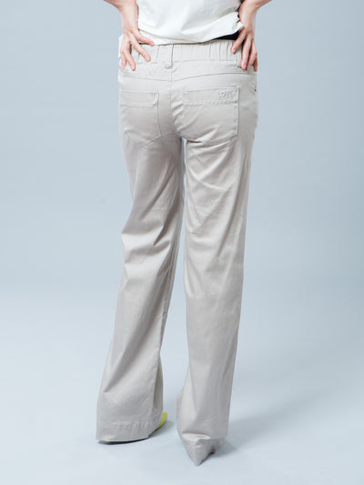 Maternity Bootcut Smart Casual Cotton Woven Pants