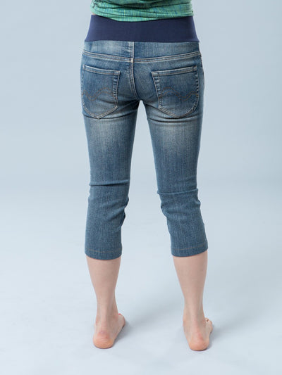 Underbelly Skinny Crop Maternity Jeans Stretchy for 9 Months
