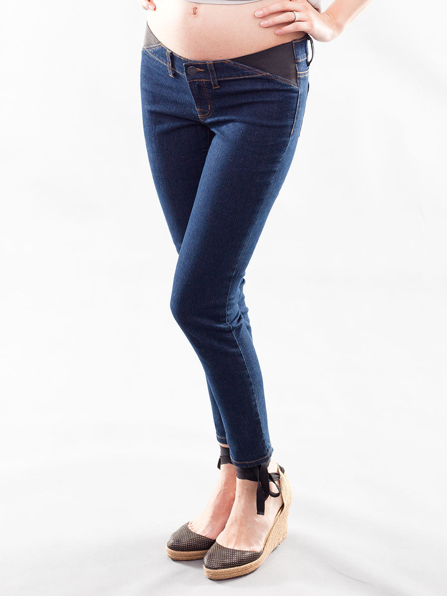 Underbelly Skinny Ankle Maternity Jeans