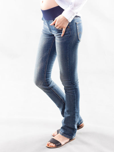 Underbelly Slim Bootcut Maternity Jeans