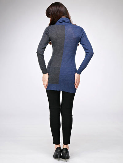 Cashmere Dual Color Maternity Top Keeps you Warm