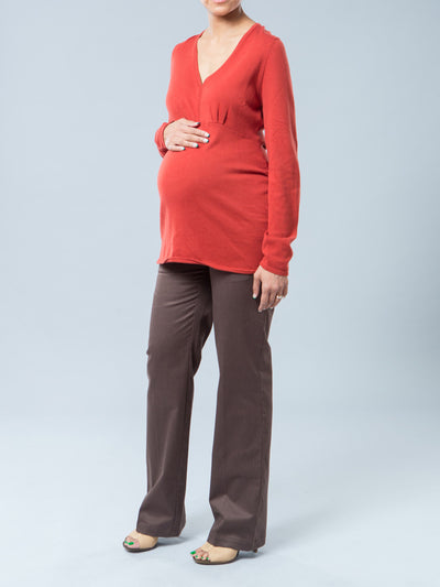 Empire-Line Maternity Sweater Top