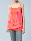 Jules and Jim Maternity Cami with Charmeuse Overlay
