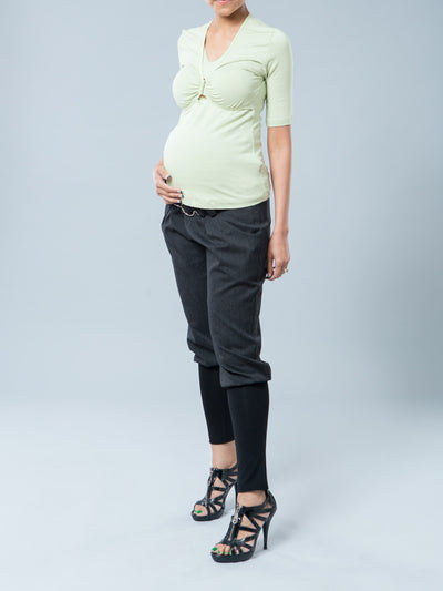 Breathable Modal Top with Discreet Nursing Access